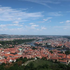 Red Rooftops of Prague